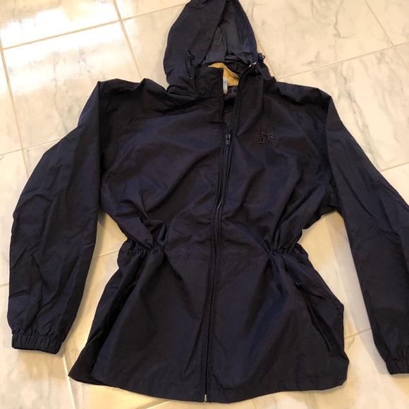 Northern Reflections blue lightweight rain jacket